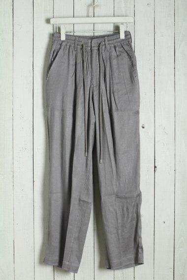 20SS Linen Semieasy Trousers  Khaki