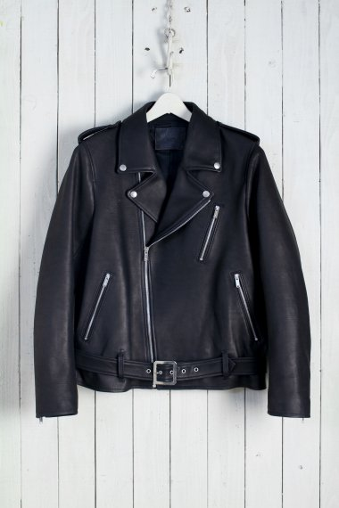 20SS Motorcycle Leather Jacket -Calf Skin-