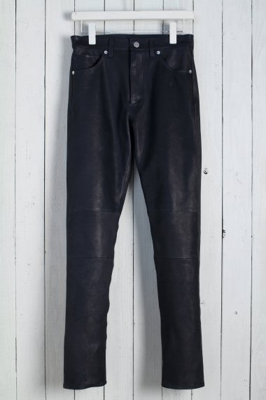 20SS 5pocket Leather Pants -Calf Skin-