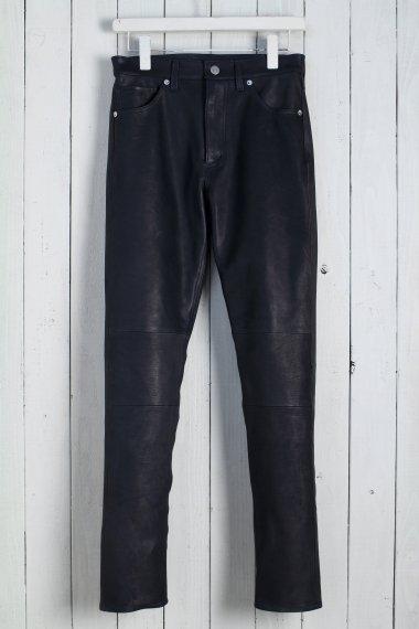 20SS 5pocket Leather Pants -Calf Skin-