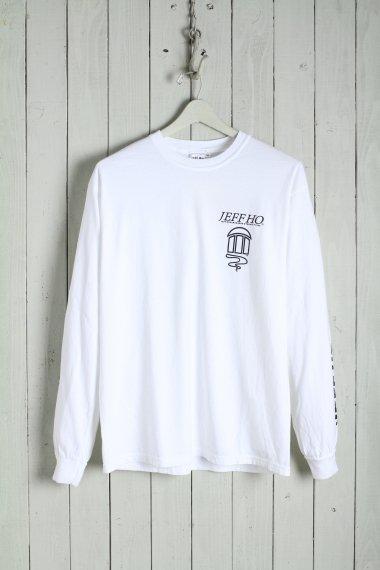 20SS Basic Logo L/S Tee White