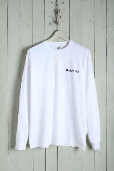 20SS Design L/S Tee White
