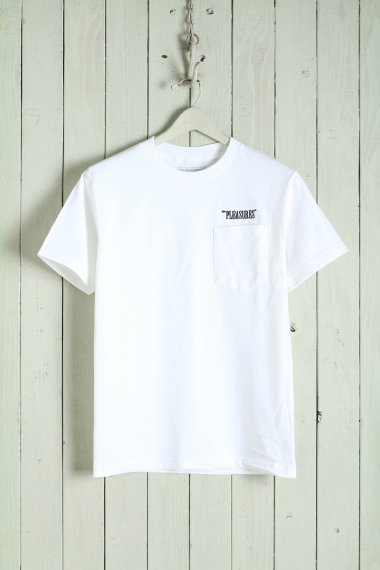 20SS Balance Embroidered Pocket Tee White