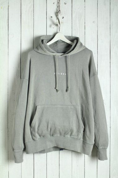20SS Minimal Thrills Slouch Pull on Hood Green