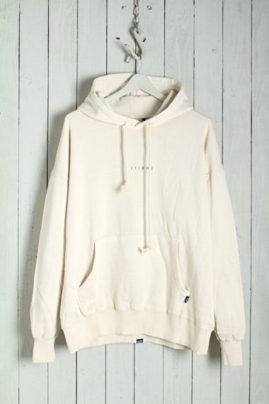 20SS Minimal Thrills Slouch Pull on Hood White
