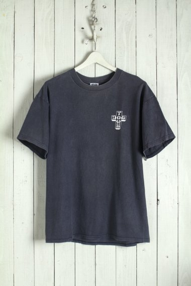 DOGTOWN Cross Logo Tee Black