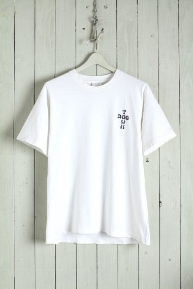DOGTOWN Cross Logo Tee White