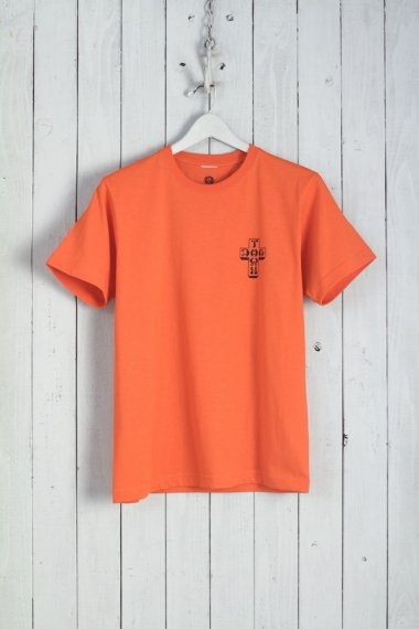 20SS Sun Burst Tee Orange