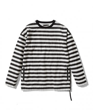20AW Border Side zip L/S WHP