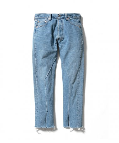 OLD PARK×MINEDENIM Rebuild Denim Pants ISP 10月3日 12時より販売開始