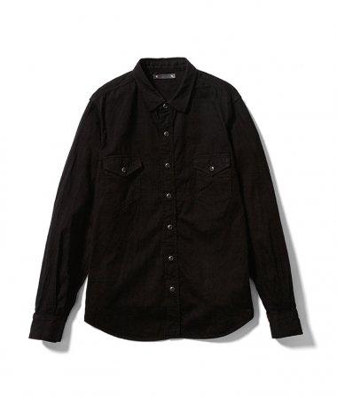20AW DENIM WESTERN Shirts OWS BLK「深黒染」