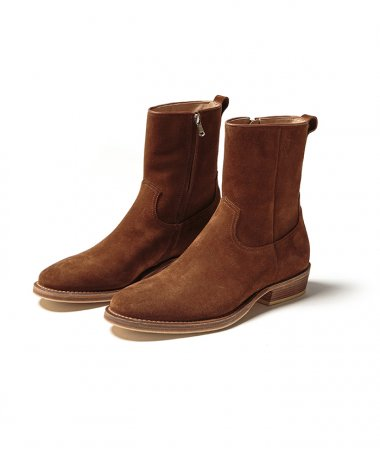 nonnative×MINEDENIM SIDE ZIP BOOTS BRN ※1月9日正午 販売開始※