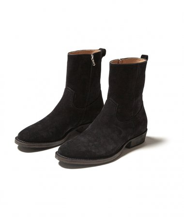 nonnative×MINEDENIM SIDE ZIP BOOTS BLK ※1月9日正午 販売開始※
