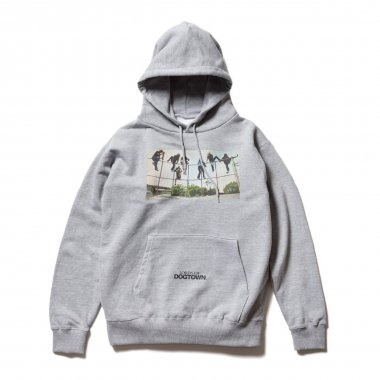 LORDS OF DOGTOWN × Marbles hoody TOP GRAY