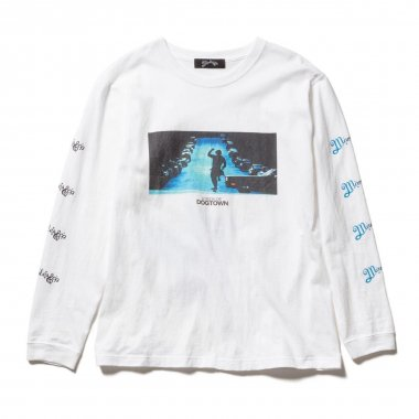 LORDS OF DOGTOWN × Marbles long sleeve TEE WHITE