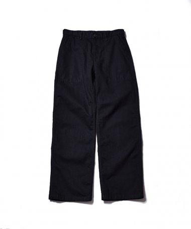21SS BLACK BAKER PANTS BOW