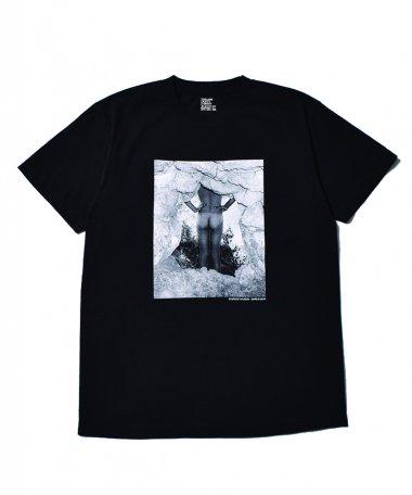 Stie-lo×Grace Ahlbom T-shirts 002 BLK