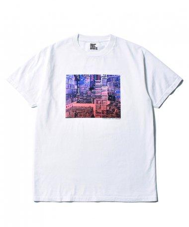 Stie-lo×Grace Ahlbom T-shirts 003 WHT
