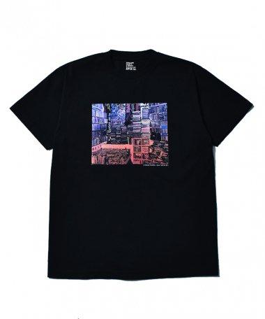 Stie-lo×Grace Ahlbom T-shirts 003 BLK