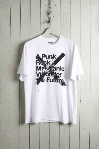 X MESSIANIC VISION T-shirts WHITE