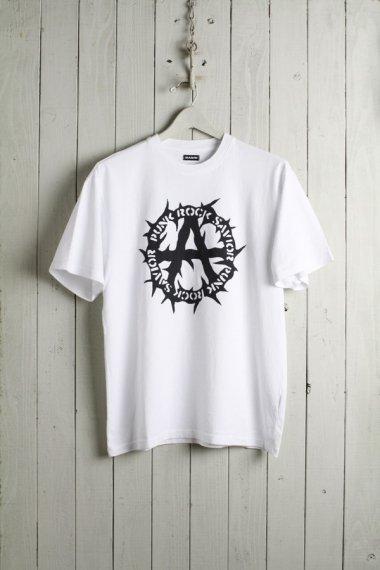 PUNK ROCK SAVIOR T-shirts WHITE