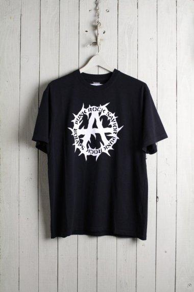 PUNK ROCK SAVIOR T-shirts BLACK