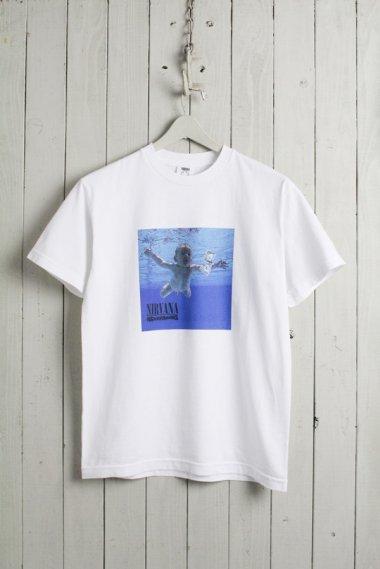 NIRVANA『NEVERMIND』 T-shirts WHT