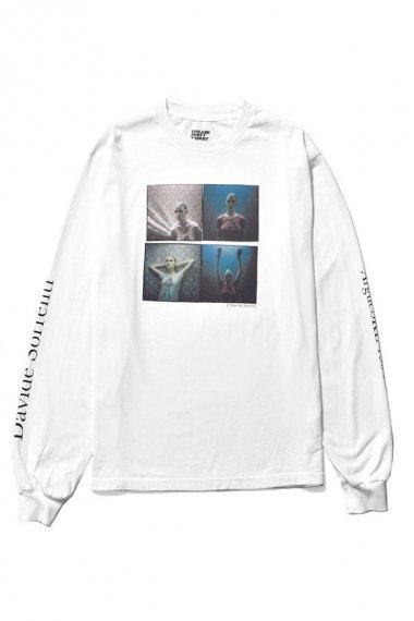 21AW Davide Sorrenti×stie-lo L/S T-shirts 007 WHT