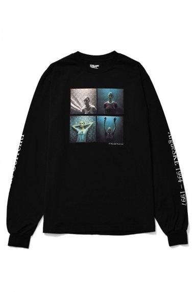 21AW Davide Sorrenti×stie-lo L/S T-shirts 007 BLK