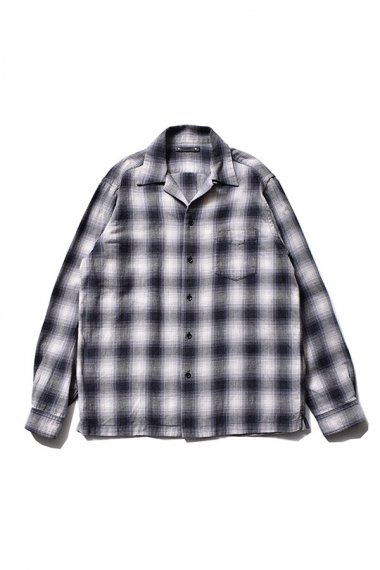 21AW OMBRE CHECK FLANNEL SHIRTS BLT
