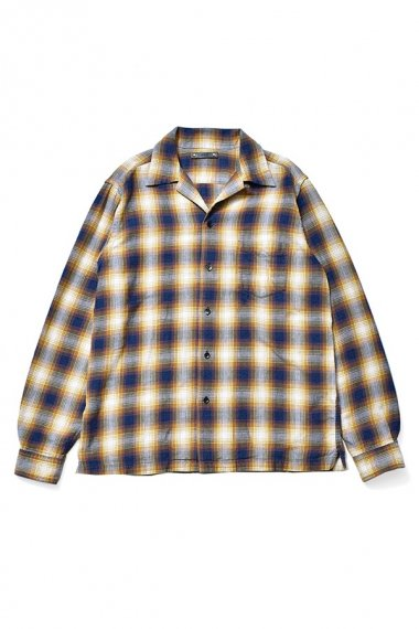 21AW OMBRE CHECK FLANNEL SHIRTS YPT