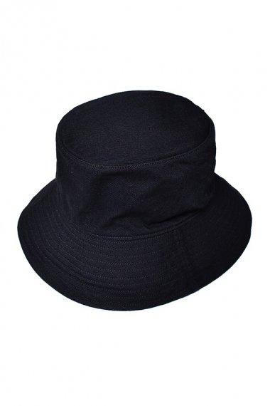 21AW Black Denim Bucket Hat BOW