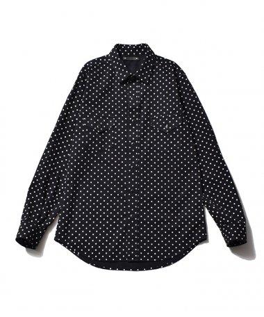 21AW SIMPLE DOT DENIM Shirts BLT