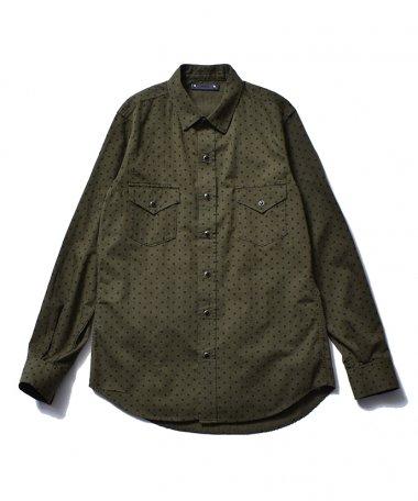 21AW SIMPLE DOT DENIM Shirts GPT