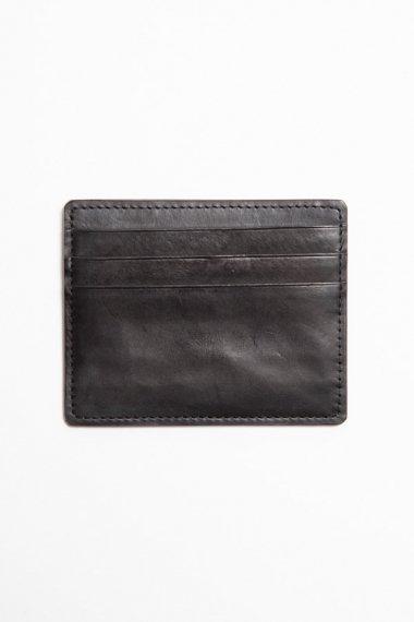 21AW 6 POCKET CARD CACE - CALF SKIN - BLACK