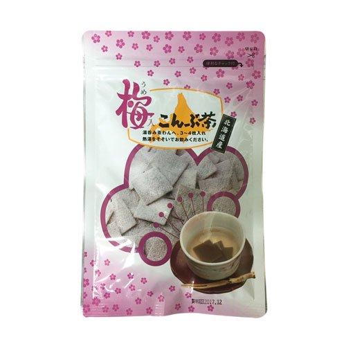 角切梅こんぶ茶