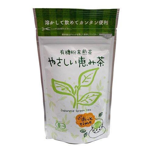 有機粉末煎茶 やさしい恵み茶 45g