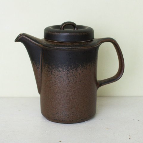 ARABIA FINLAND RUSKA COFFEE POT