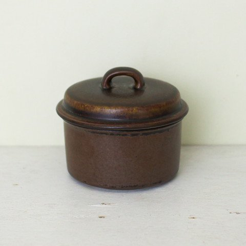 ARABIA FINLAND RUSKA SUGAR POT
