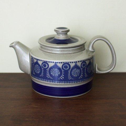 NORWAY STAVANGERFLINT GREY/BLUE TEA POT