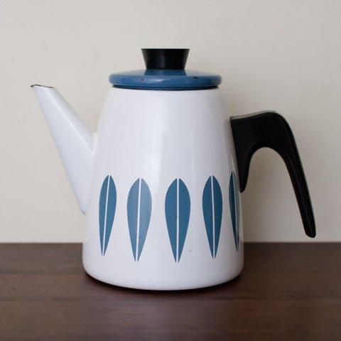 CATHRINEHOLM NORWAY WHITE/BLUE LOTUS TEA POT