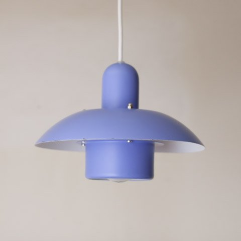 DENMARK POWDER BLUE 2 SHADE LAMP