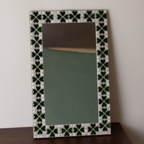 DENMARK HAND MADE TILE MIRROR(MEDIUM)