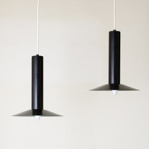 DENMARK LYFA BLACK SHADE LAMP SET