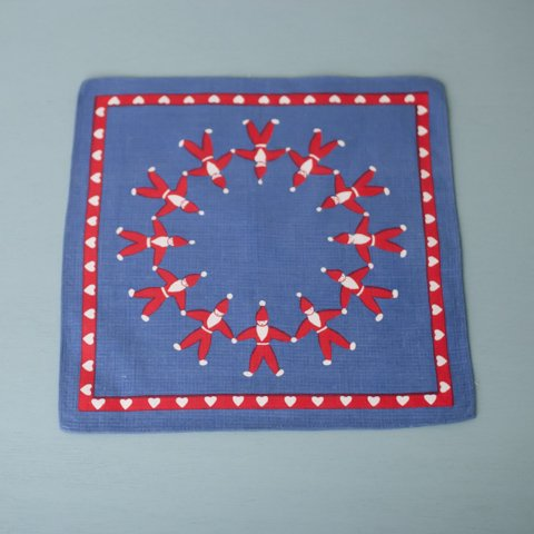 SWEDEN BLUE TOMTE TABLE MAT