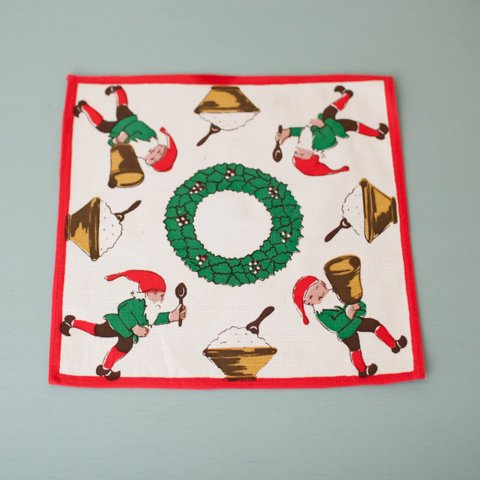 SWEDEN TOMTE WITH TOMTEGROT TABLE MAT