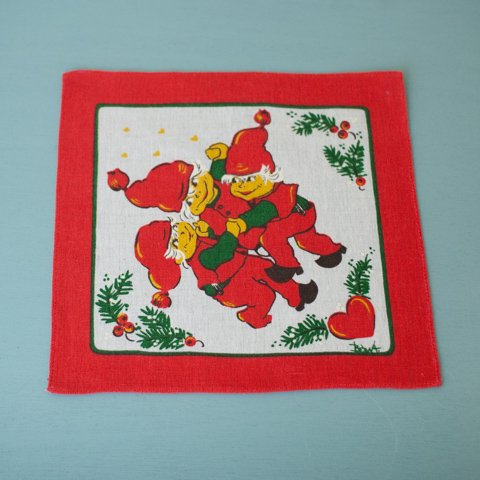 SWEDEN THREE TOMTE TABLE MAT