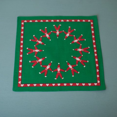 SWEDEN GREEN TOMTE TABLE MAT