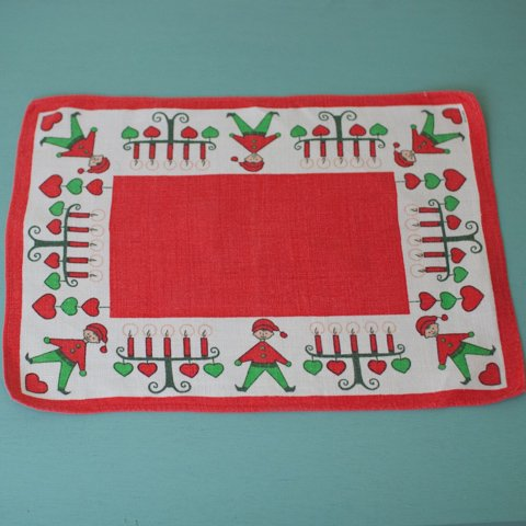 SWEDEN ULLAS CUTE TOMTE TABLE MAT