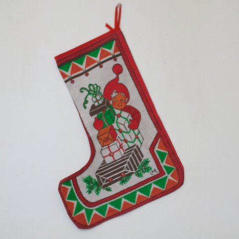 SWEDEN LM DESIGN X'MAS SOCKS